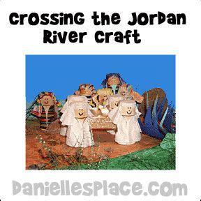 Bible Craft For Kids Crossing The Jordan River Bible