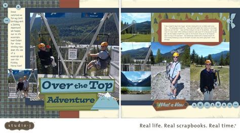 google layout scrapbook zipline scrapbook layout google search getting scrappy