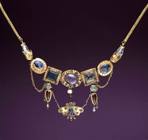 ancient greek jewelry ancient greek jewelry necklace with butterfly pendant