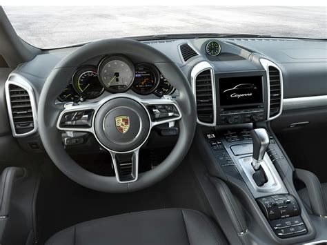 porsche cayenne 2016 interior 2016 porsche cayenne e hybrid price photos reviews