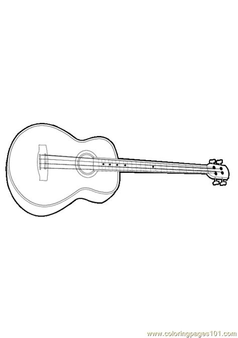 guitar coloring pages pdf coloring pages guitar entertainment gt music free