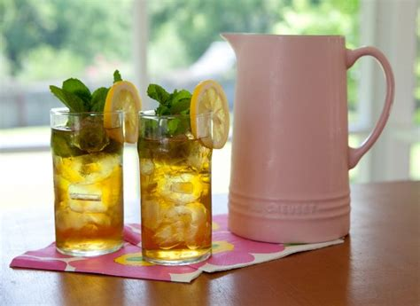 southern style mint sweet tea cooking contest central