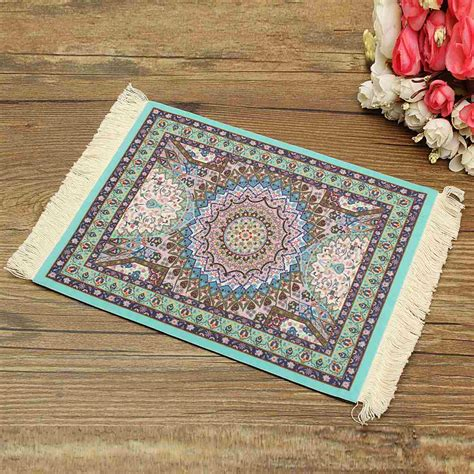 Mat Define by Rug Mouse Pad Custom Bohemian Style Mouse Mat High