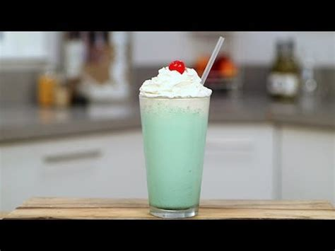 how to make a mcdonald s shamrock shake at home get the