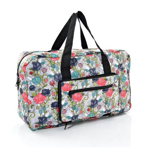 Bag Is Eco Chic by Eco Chic Print Foldaway Holdall Jarrold Norwich