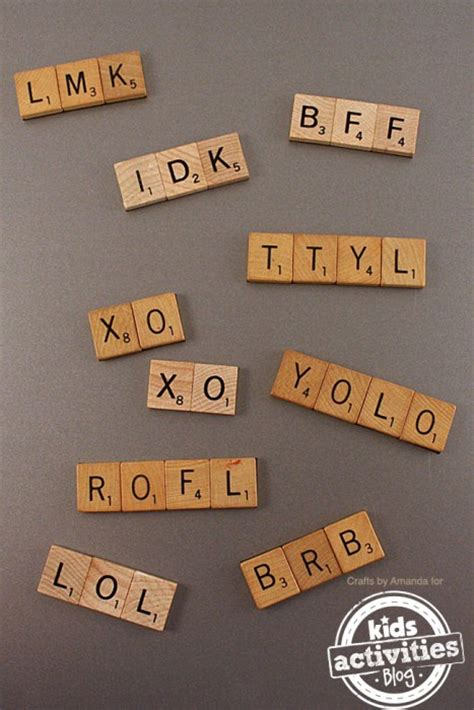 acronyms in scrabble 38 diy craft ideas to repurpose boards to sell