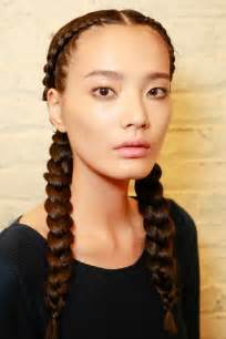 hairstyle with 2 shoulder braids two braids hairstyles black