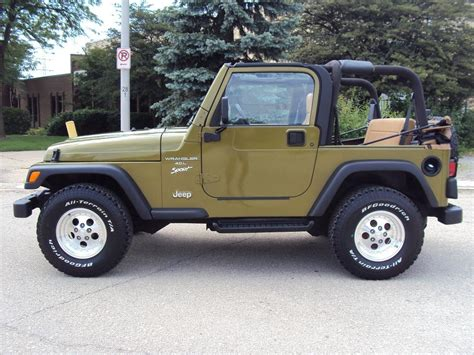1997 Jeep Wrangler Sport Highland Motors Chicago Schaumburg Il Used Cars