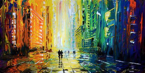 acrylic paint artists list pics for gt rainy acrylic painting