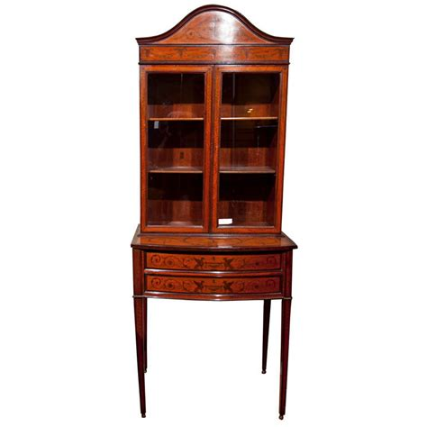 Edwardian Style Curio Cabinet At 1stdibs