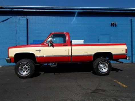 purchase used 1987 chevrolet silverado 2500 k20 4x4