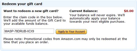 Find Balance On Amazon Gift Card - how to add gift cards certificates to your amazon account