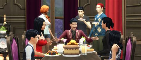 host a dinner party social events throwing a party in the sims 4