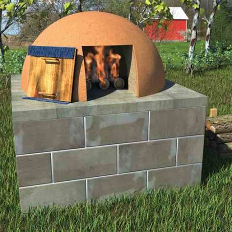 diy outdoor bread oven designs plans free