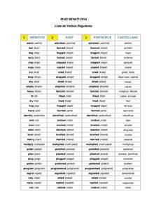 regular verbs pt 03