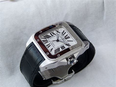 Jam Tangan Cartier 01 180k jam tangan for sale cartier santos xl automatic sold