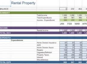 Property Expenses Spreadsheet Excel Sheet For House Rent Collection Sample Online