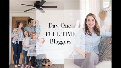 husband quit  job full time bloggers making