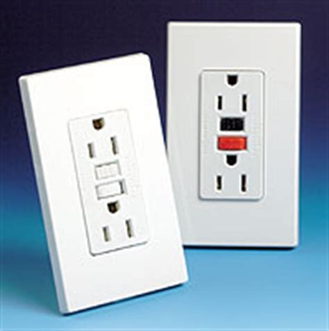 how to reset bathroom outlet gfci outlets