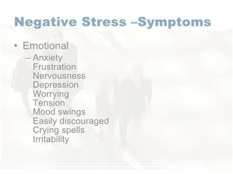 anxiety mood swings irritability stress management