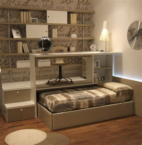 platform bed with desk beds for small spaces with a beautiful look and great function