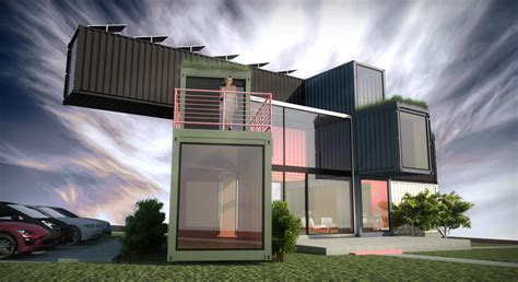 Storage Containers Homes Floor Plans by Containers Future City Architects