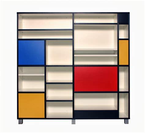home design furniture com mondrian inspired bookcase dedicated to de stijl