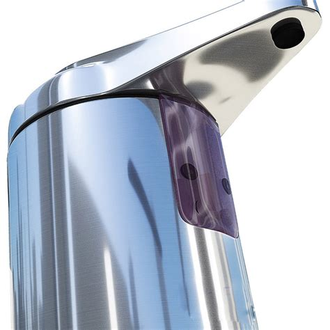 Sabun Cair Dispenser 2 stainless steel sensor automatic soap dispenser sabun otomatis silver jakartanotebook
