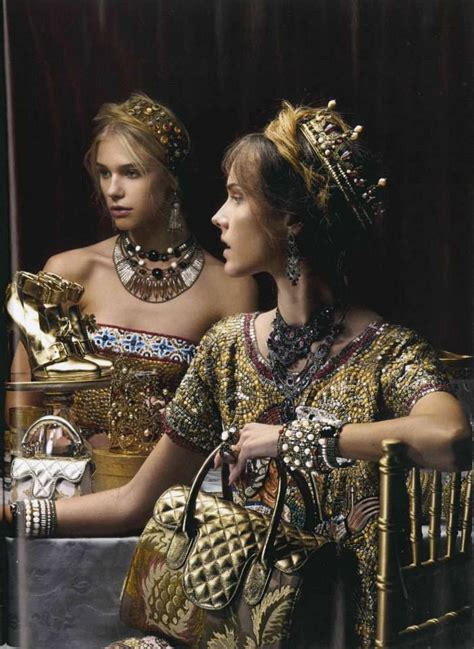 Editorial Dress Of The Month Dolce Gabbana by Empire Crown Editorial Dolcegabbana Gold
