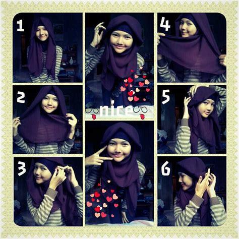 tutorial hijab paris 2 jilbab tutorial menggunakan jilbab paris 1 dorie shop