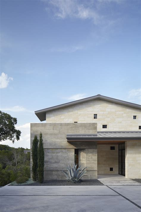 country architecture residential hill country residence architect magazine cornerstone