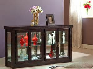 Accent Cabinet With Glass Doors » Ideas Home Design