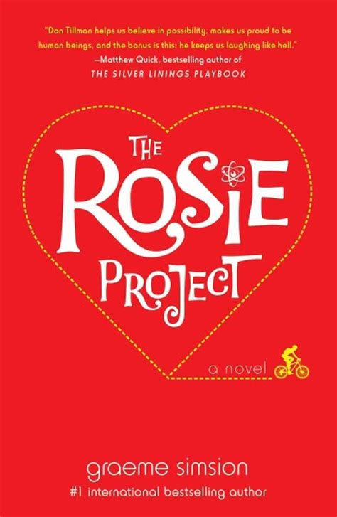the rosie project a novel book review the rosie project by graeme simsion npr