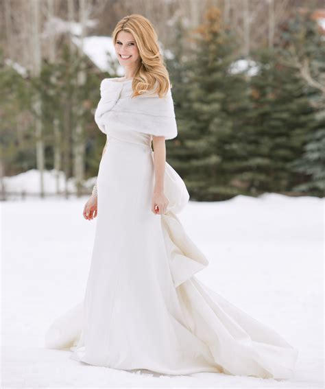 Wedding Attire Weather by White Winter Wedding Dress Dresscab