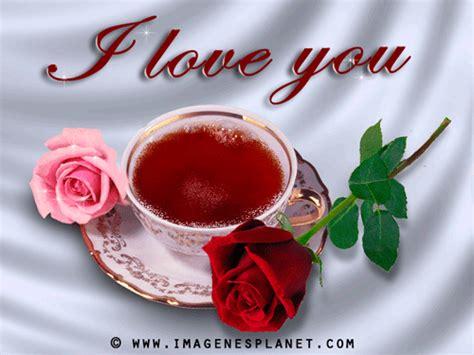 imagenes de i love you con rosas rosa y caf 233 animadas con frases de amor una cena rom 225 ntica