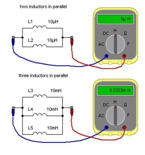 since the two inductors are in parallel the voltage across them is the same matrix electronic circuits and components inductors inductors in parallel