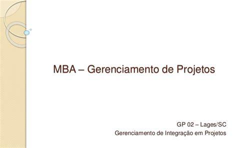 Mba Gerenciamento De Prgetos Univali Olvideo by Caminhos Do Planalto