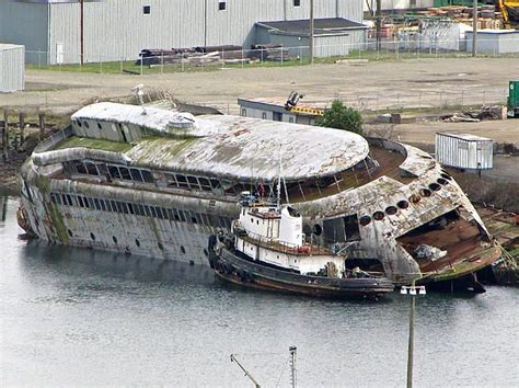boat salvage washington state the kalakala worlds most beautiful ferry derelict ferry