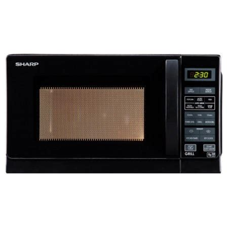 Microwave Sharp 25 Liter Grill Panggang 1000 Watt R728 K In 1 sharp r662km 800w 20l freestanding microwave with grill black appliances direct