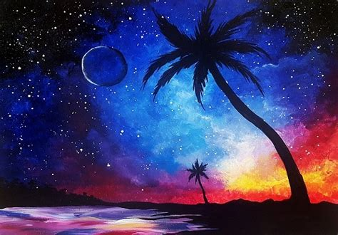 paint nite uk paint nite galaxy at the