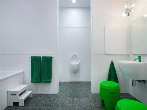 green kids bathroom photo page hgtv