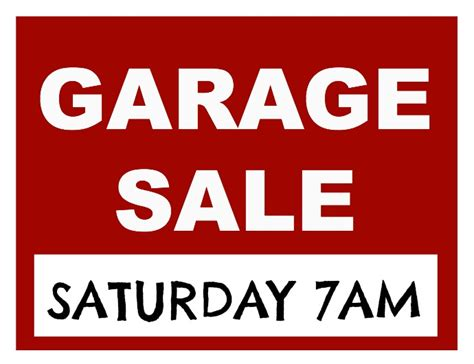 Garage Sale On by Posed Perfection It S Garage Sale Time