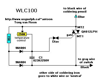 weller wlc100 repair circuit diagram pcb and other info