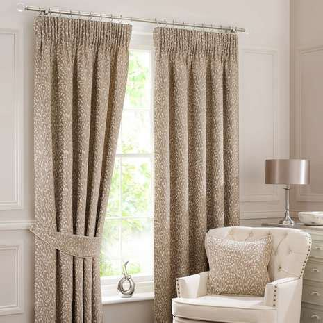 dunelm cream curtains willow cream lined pencil pleat curtains dunelm