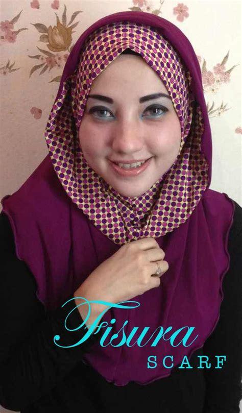 Jilbab Instan Fisura Jilbab Syria Hoodie Instan Cantik Terbaru Laluna By