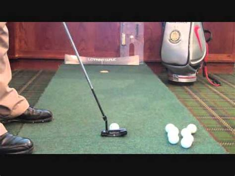 golf swing straight back straight through golf myth swing the putter straight back and straight