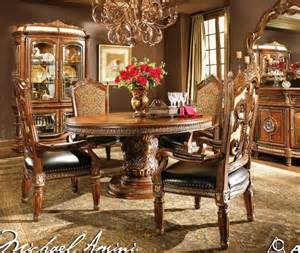 Aico Dining Room by Aico Furniture Villa Valencia Round Dining Room Set