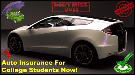 Student Car Insurance   Compare Cheap Auto Insurance For