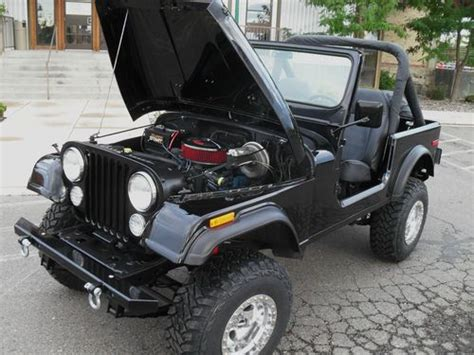 beach cruiser jeep buy new 1978 jeep cj7 4x4 v8 304 black beach cruiser new