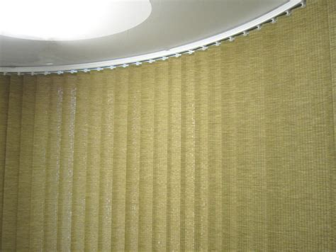 bend it curved headrail vertical blinds for bay amp bow